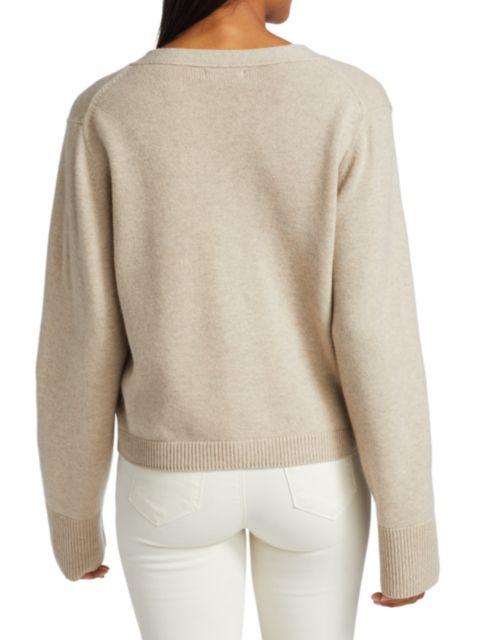 Naadam Cashmere Front Pocket Cardigan   SaksFifthAvenue