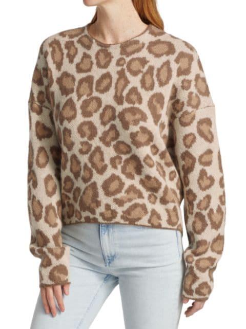 Rag & Bone Cheetah Print Sweater | SaksFifthAvenue