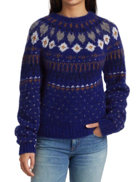 Rag & Bone Fran Fair Isle Sweater | SaksFifthAvenue