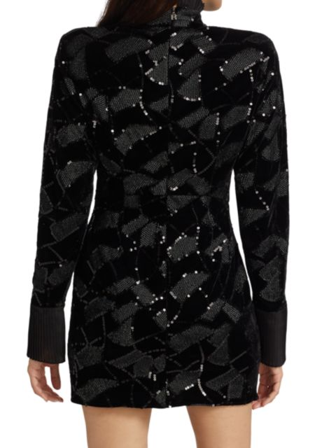 Rotate Birger Christensen Miki Sequin Mini Dress | SaksFifthAvenue