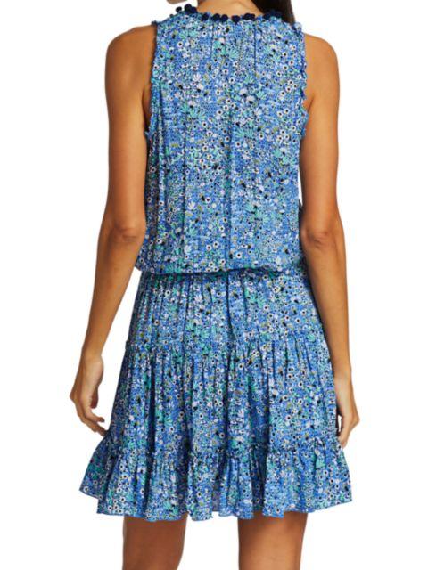 Poupette St Barth Clara Ditsy Floral Mini Dress   SaksFifthAvenue