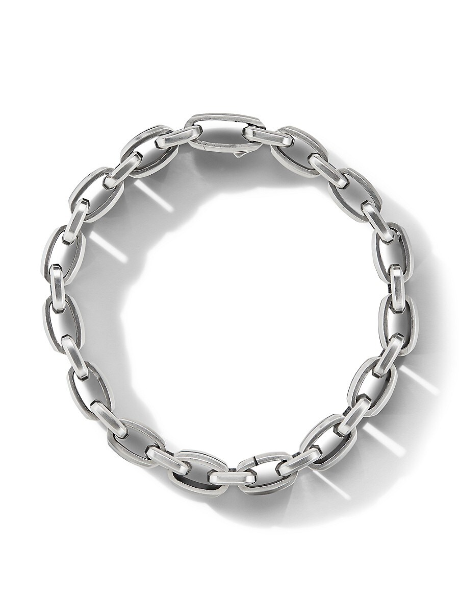 DAVID YURMAN Bracelets BEVELED STERLING SILVER LINK BRACELET