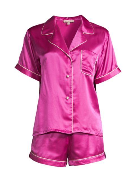 Morgan Lane Gemstone Katelyn 2-Piece Short Pajama Set | SaksFifthAvenue