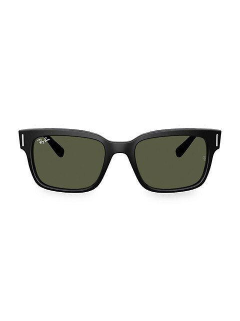 RB2190 53MM Solid Square Sunglasses