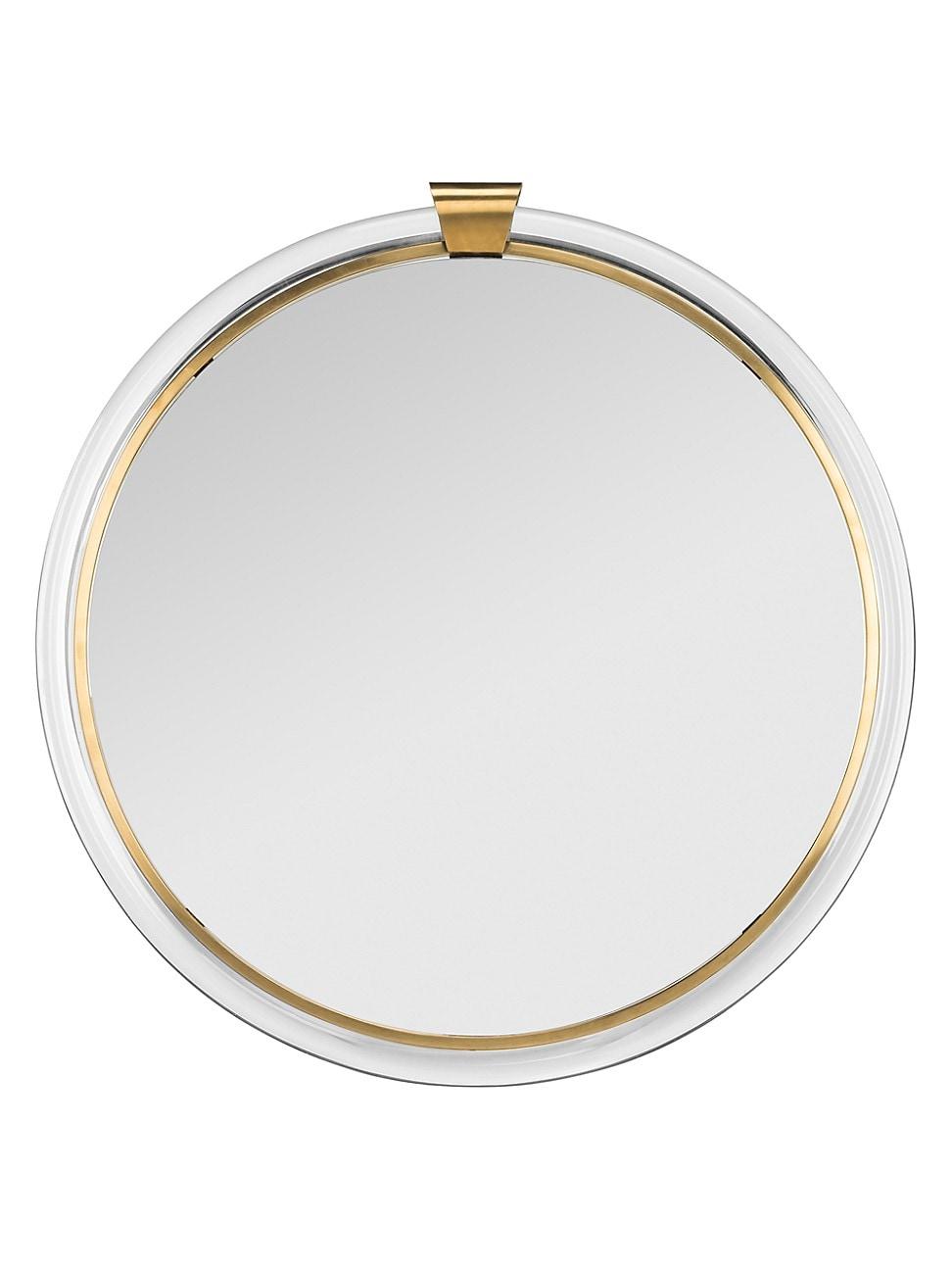 Safavieh Donzel Acrylic Mirror In Brass