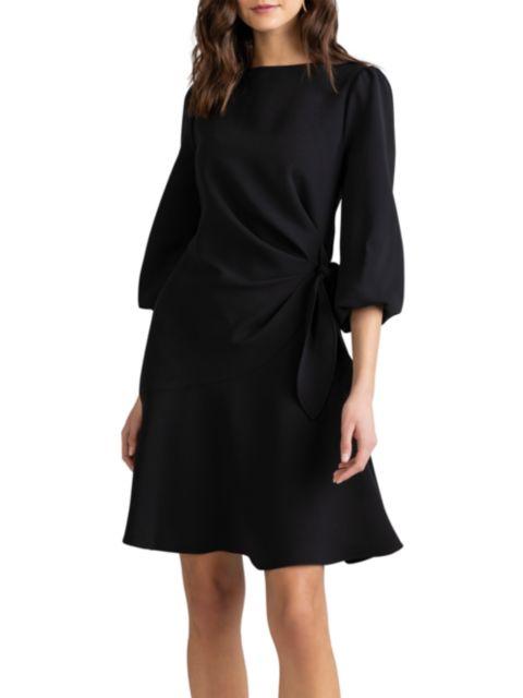 Shoshanna Abbey Knotted Waist Dress | SaksFifthAvenue