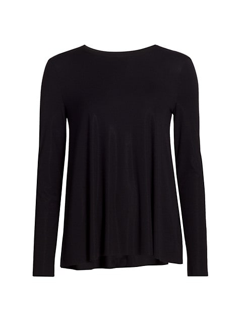 Aurora Pure Long-Sleeve Relaxed Top
