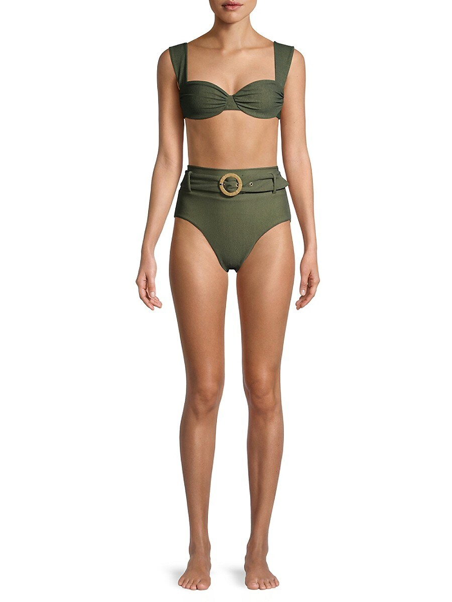 REVEL REY Bikinis WOMEN'S REID BIKINI TOP