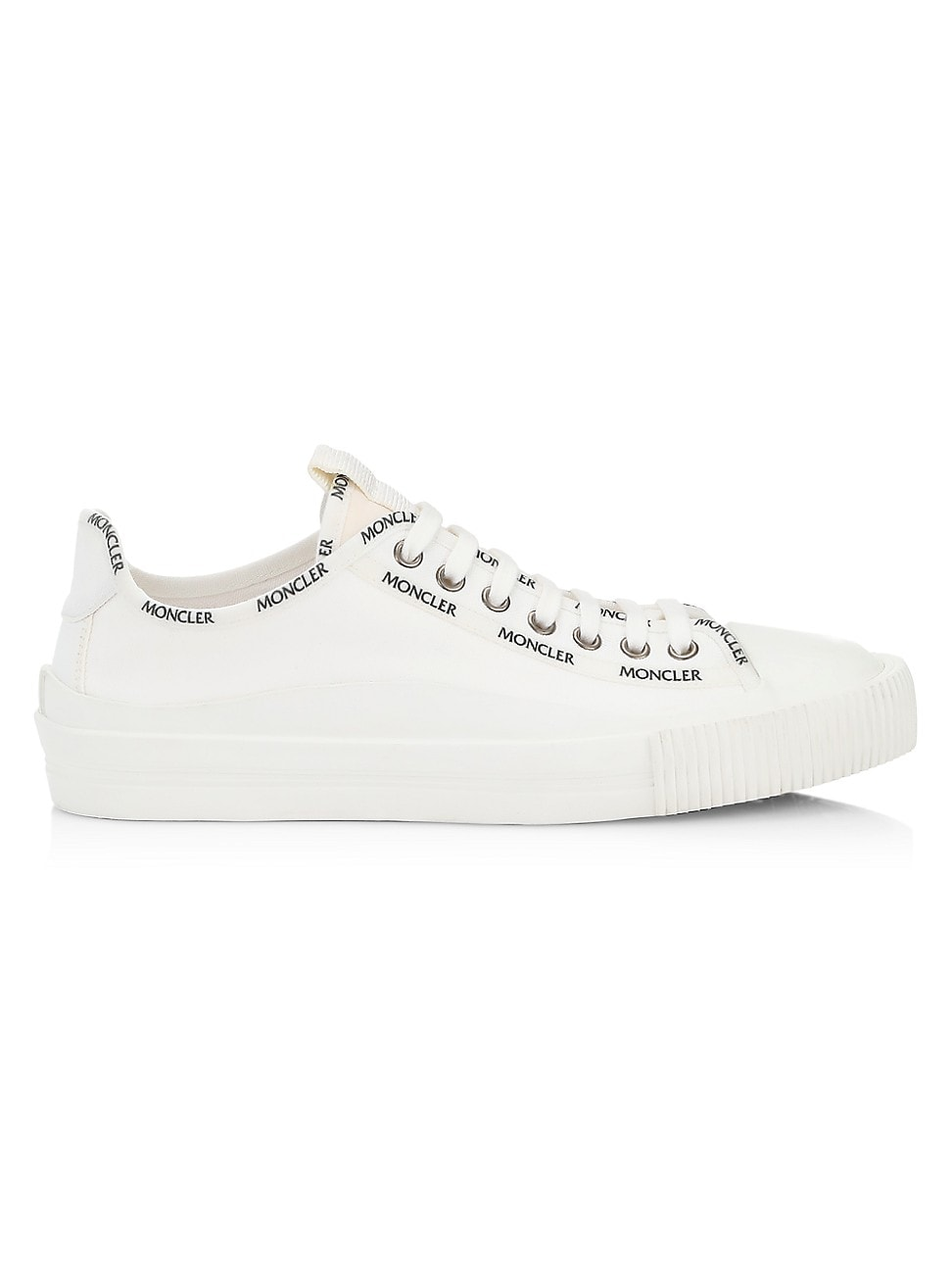 Moncler Canvases WOMEN'S GLISSIERE CANVAS SNEAKERS