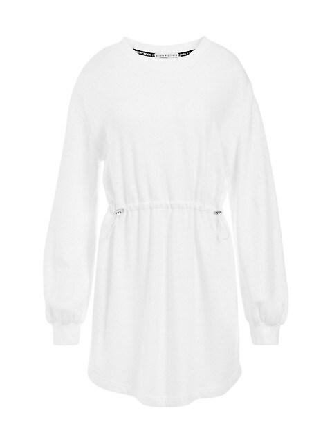 Heeda Dropped-Shoulder Toggle Dress