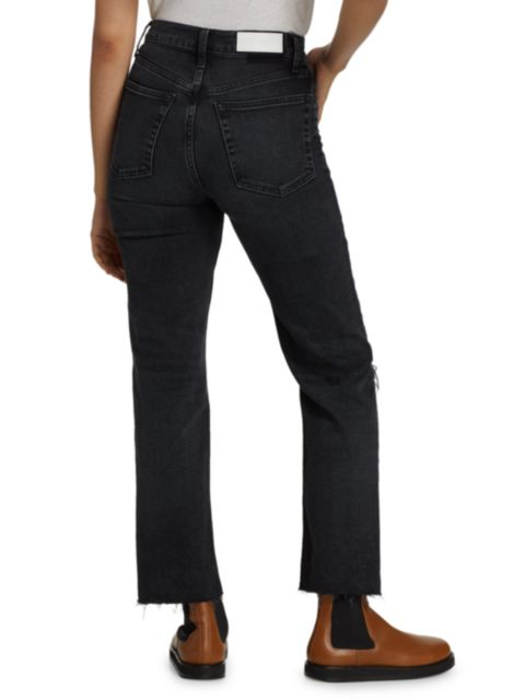 Re/done 70s Stove Pipe Ripped Jeans   SaksFifthAvenue