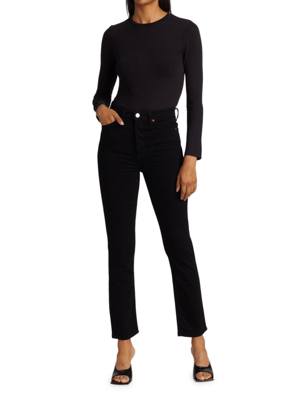 Re/done 80s Slim Straight Jeans   SaksFifthAvenue