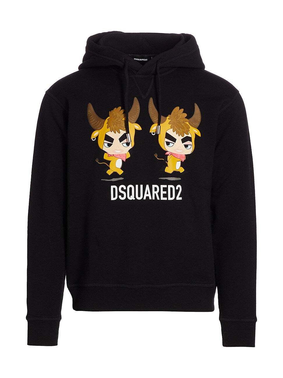 DSQUARED2 MEN'S COOL FIT YEAR OF THE OX GRAPHIC HOODIE