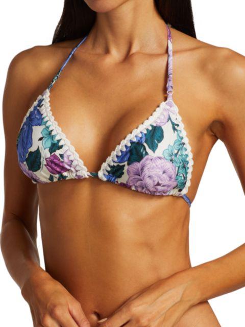 Zimmermann Poppy 2-Piece Crochet Edge Bikini Set | SaksFifthAvenue
