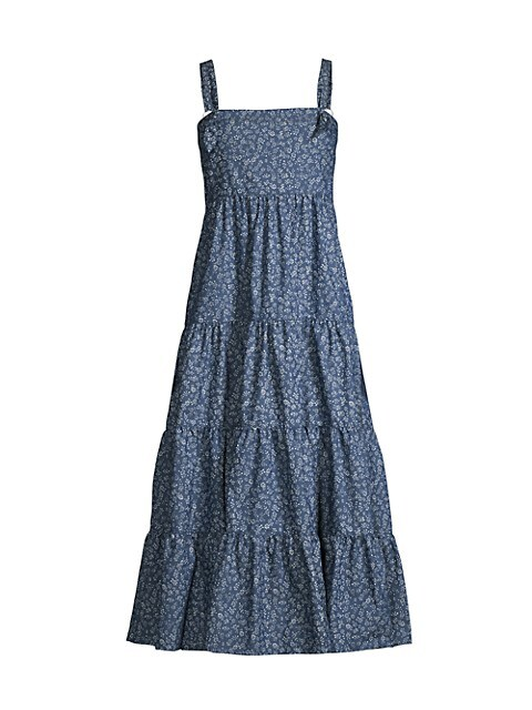 Kimber Denim Midi Dress