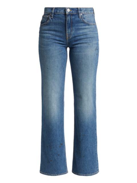 Hudson Rosie High-Rise Wide-Leg Jeans | SaksFifthAvenue
