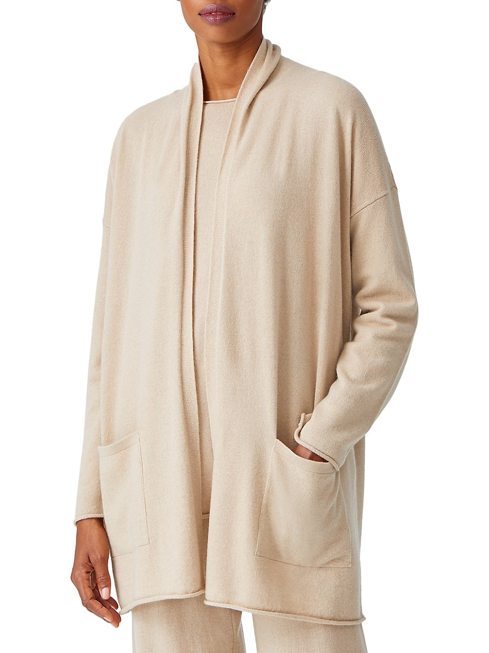 Eileen Fisher WOMEN'S CASHMERE CARDIGAN