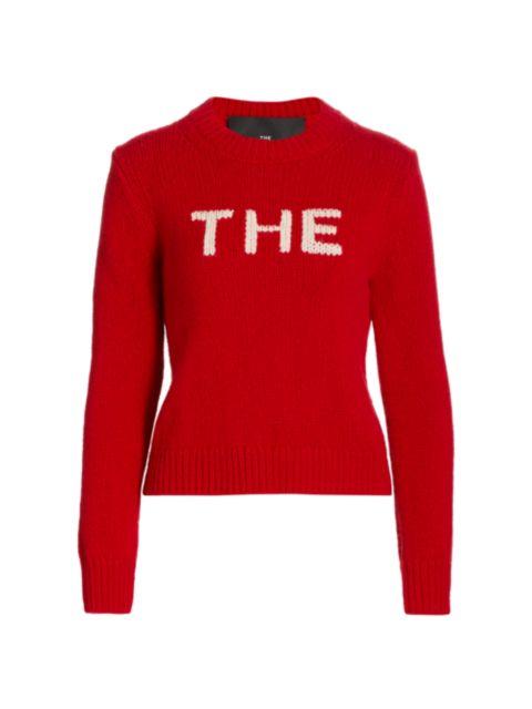 The Marc Jacobs The Knit Crewneck Sweater | SaksFifthAvenue