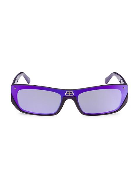 Extreme 99MM Rectangular Sunglasses