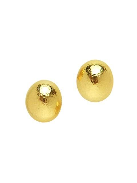 19K Yellow Gold Small Shrimp Earrings