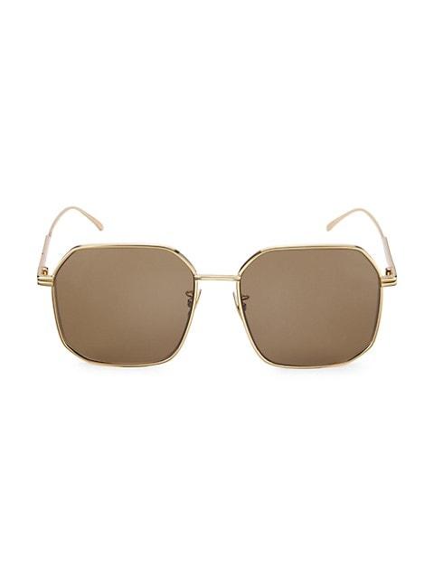 DNA 58MM Square Sunglasses