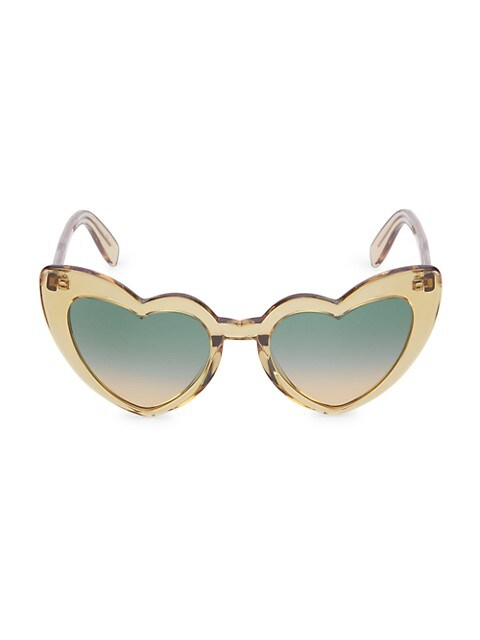 New Wave Loulou 54MM Heart Sunglasses