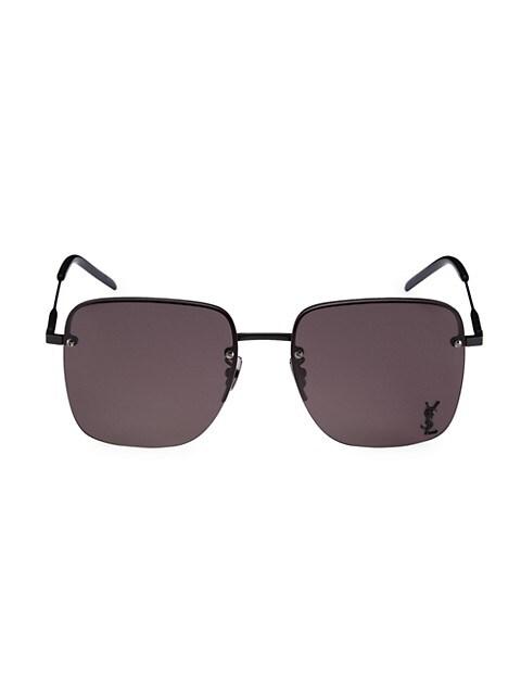 Monogram 58MM Square Sunglasses