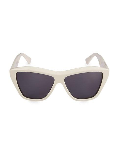 Minimalist 58MM Rectangular Sunglasses