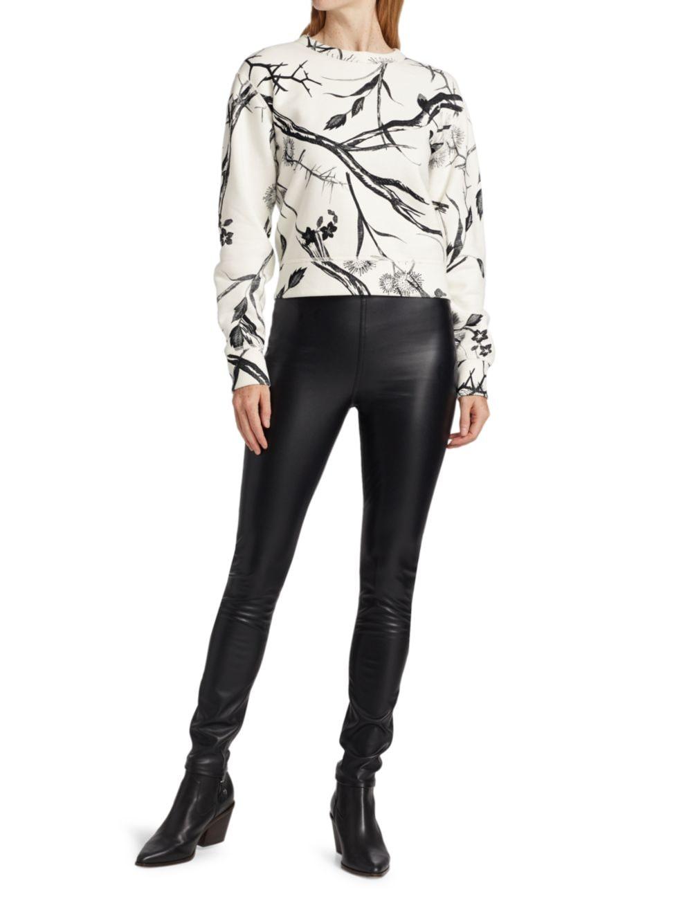 Rag & Bone Floral Crewneck Sweatshirt | SaksFifthAvenue