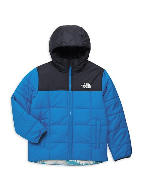 The North Face Little Boys & Boys Reversible Perrito Hooded Jacket