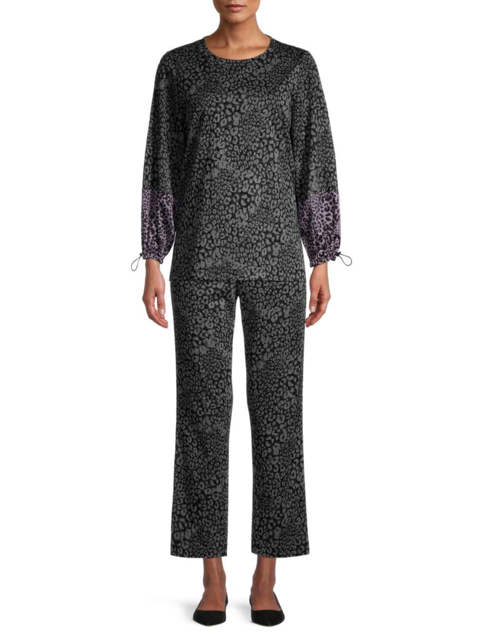 Kobi Halperin Tami Soft Printed Pants | SaksFifthAvenue