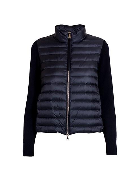 Down Knit & Puffer Combo Jacket
