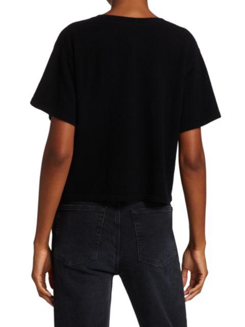 Le Superbe Enjoy Yourself Cashmere T-Shirt   SaksFifthAvenue