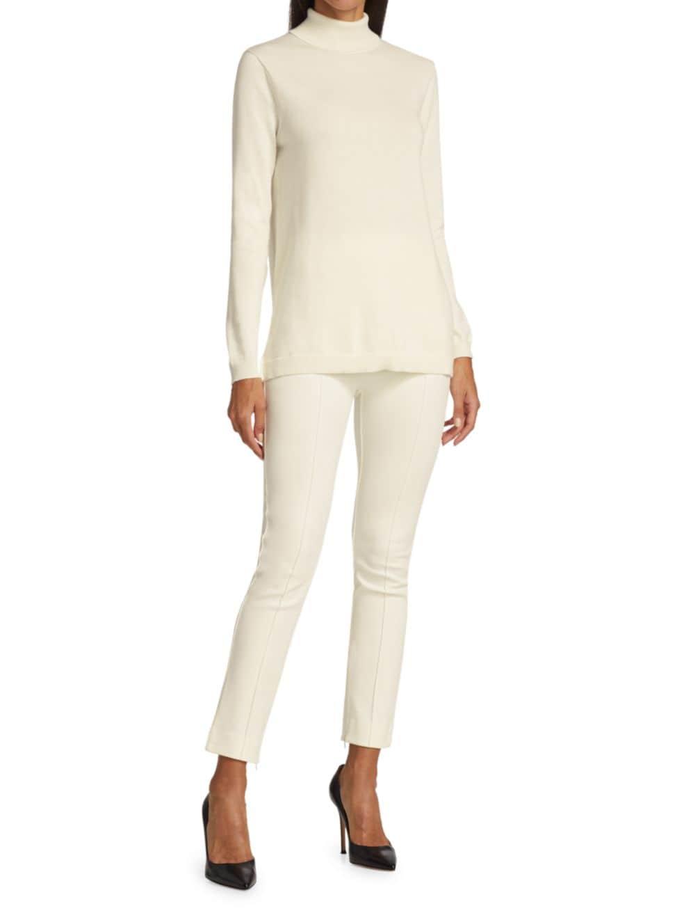 Joan Vass Turtleneck Tunic Sweater | SaksFifthAvenue
