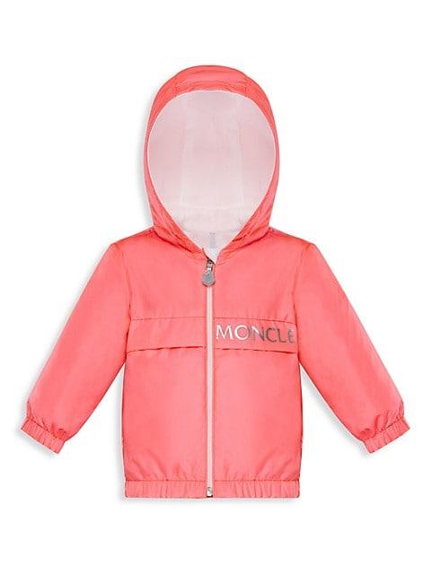 Baby's & Little Girl's Zip-Up Hooded Jacket