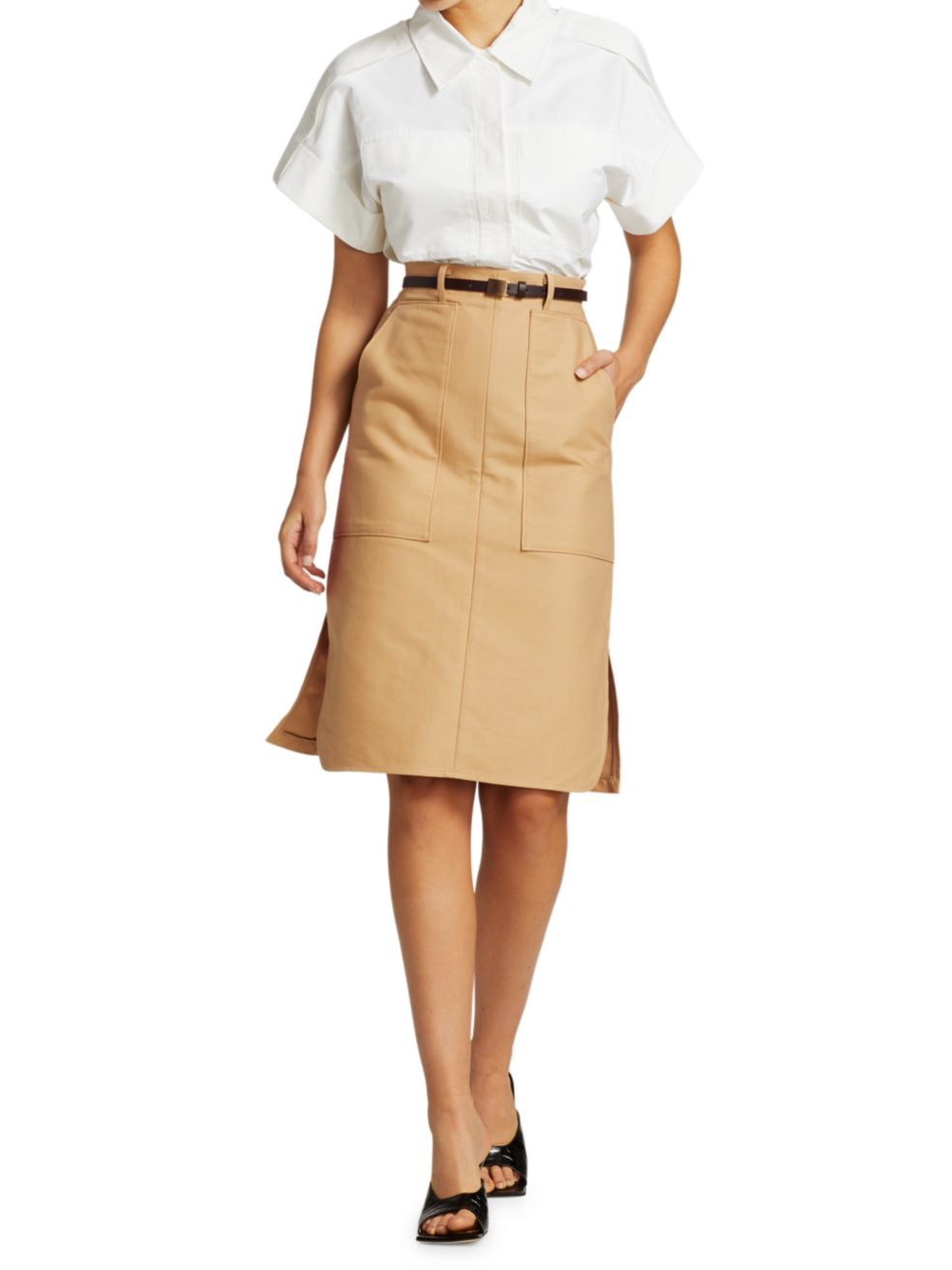 LVIR Pleasant Utility Wide Capra Shirt   SaksFifthAvenue