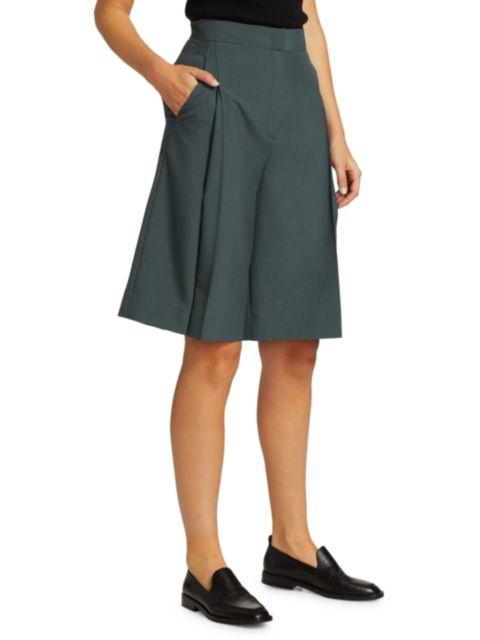 LVIR Pleasant Utility Wool Single Pleat Pants   SaksFifthAvenue