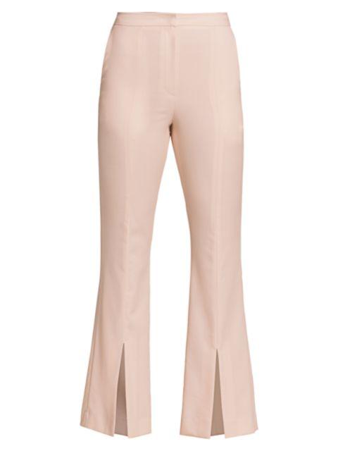LVIR Pleasant Utility Slim Bell Bottom Slit Pants | SaksFifthAvenue