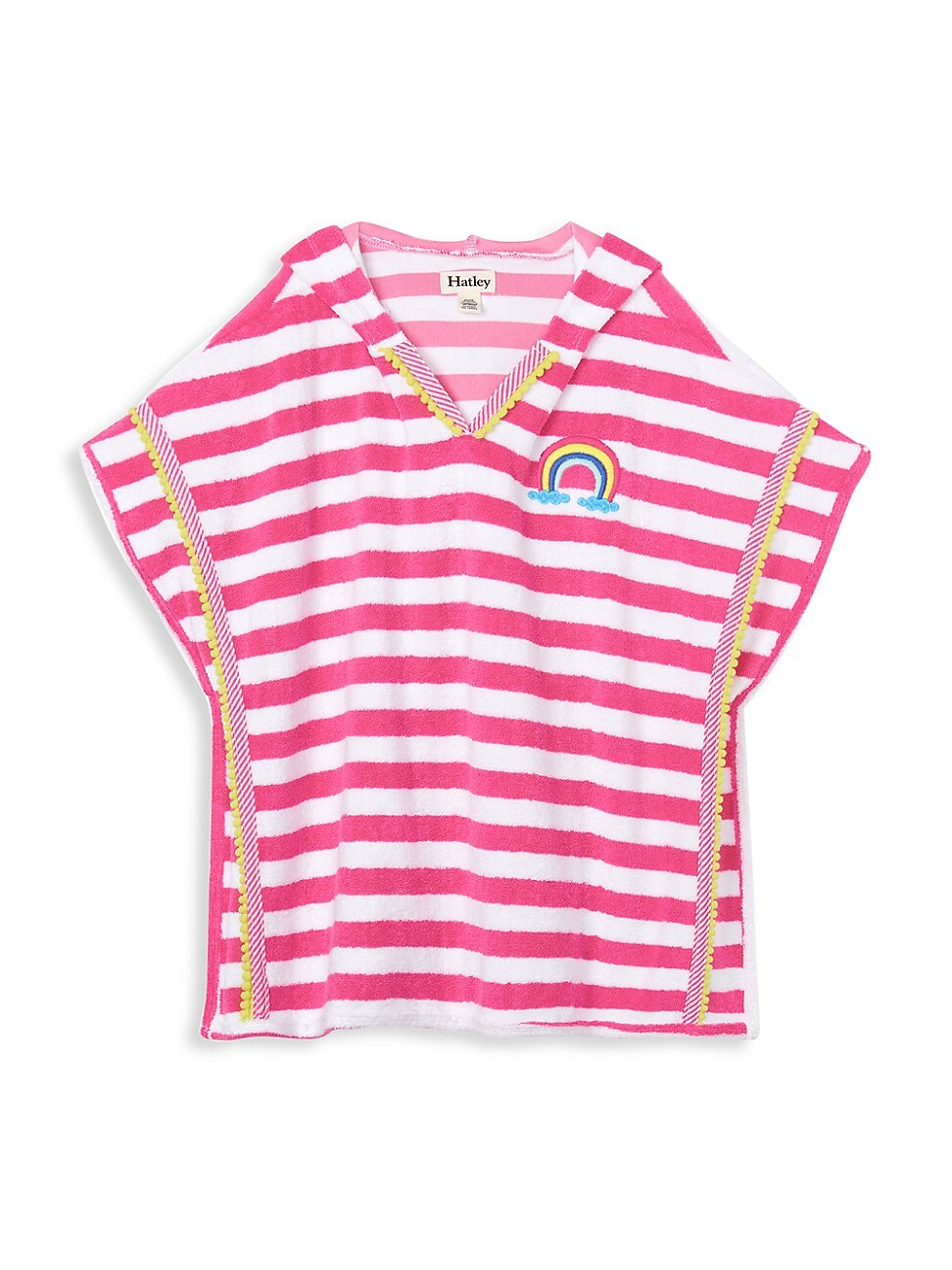 Hatley Tops LITTLE GIRL'S AND GIRL'S OVER THE RAINBOW HOODED COVER UP