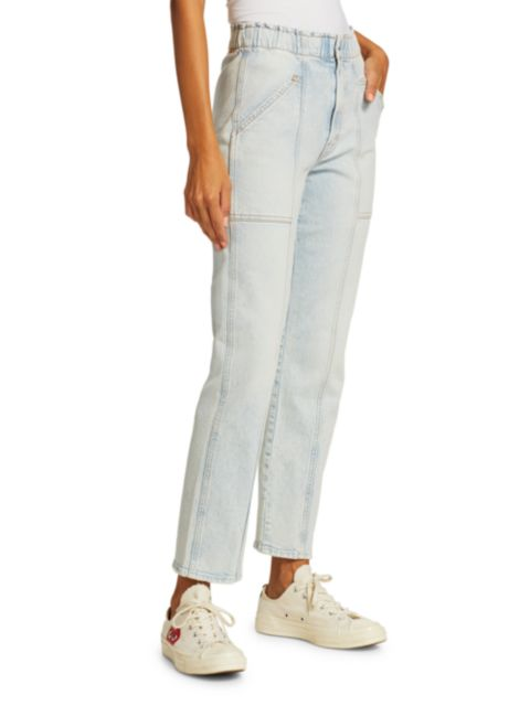 Mother The Springy Ankle Jeans   SaksFifthAvenue