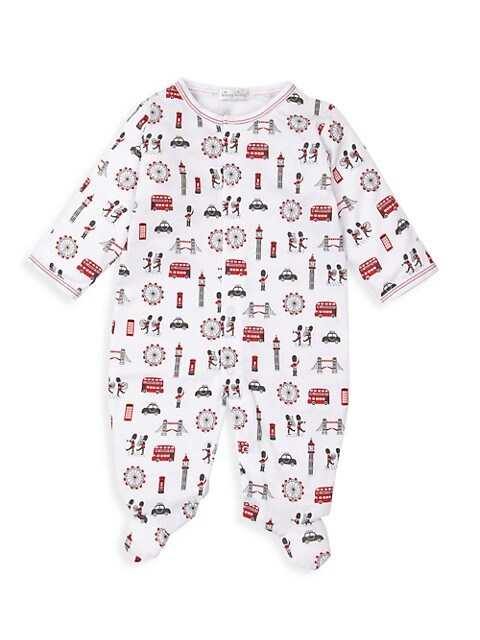 Baby's London Marching Band Print Footie