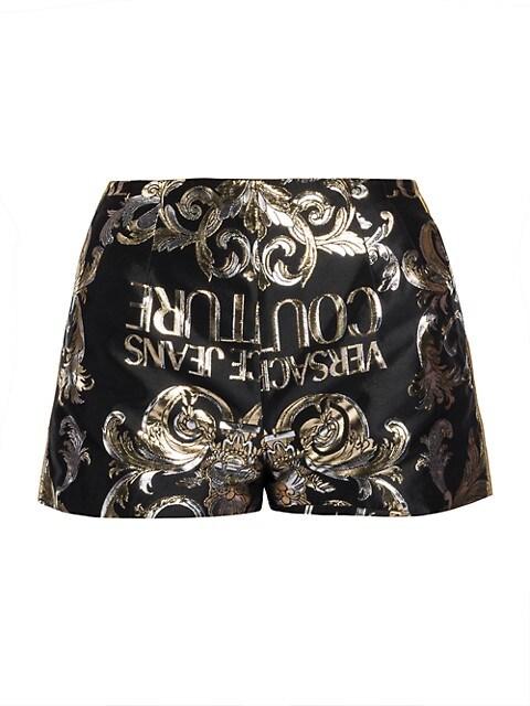 Metallic Logo Shorts