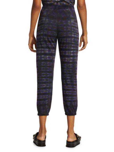 Raquel Allegra Tie-Dye Jogger Pants | SaksFifthAvenue