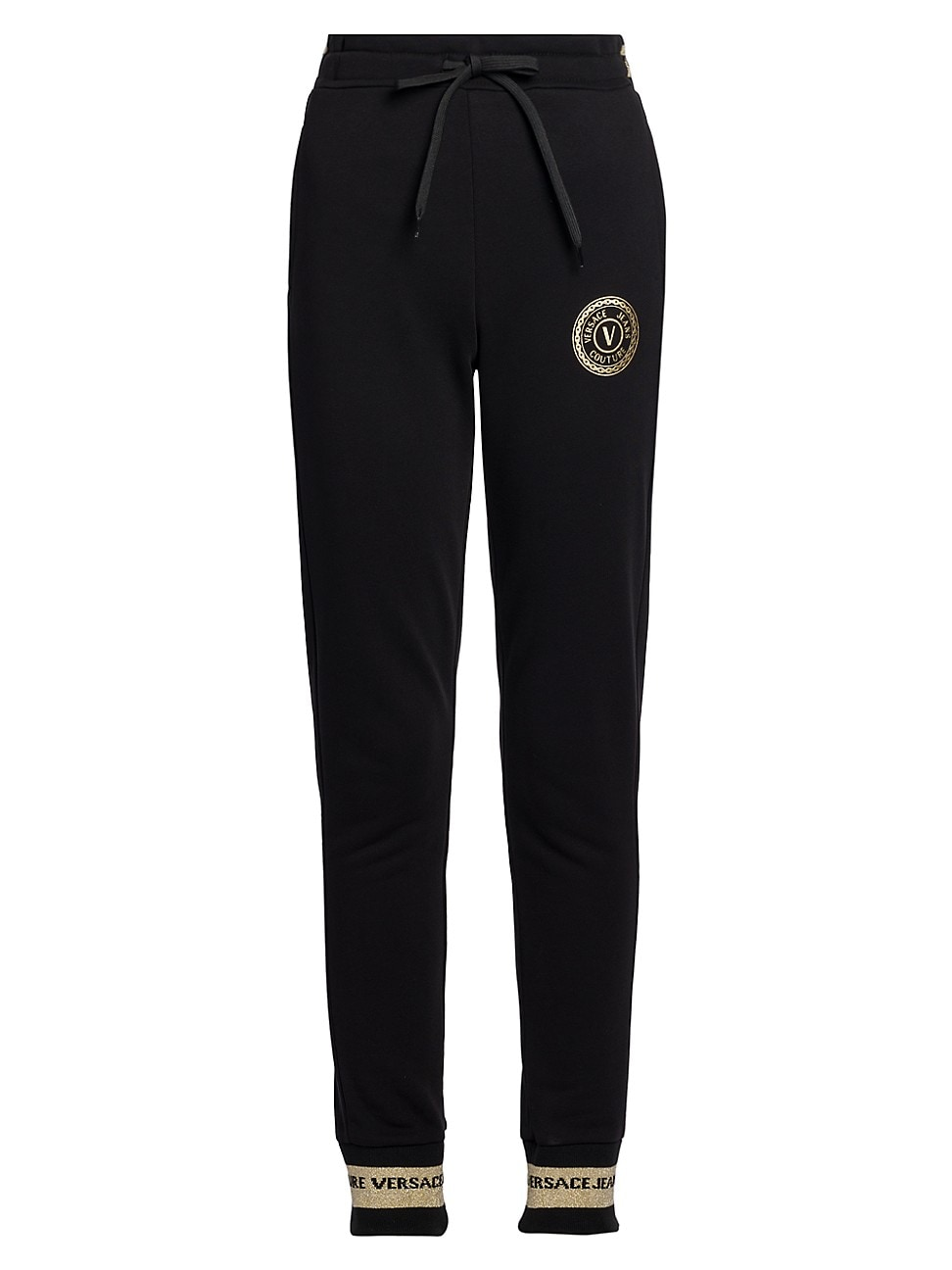 Versace Jeans Couture WOMEN'S LOGO DRAWSTRING JOGGERS