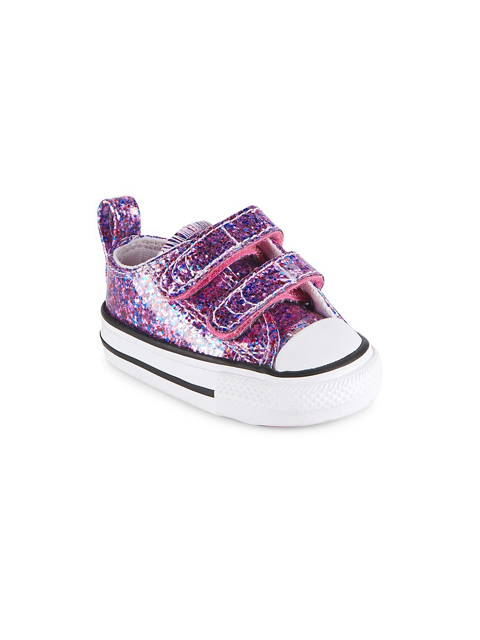 Converse Glitters BABY'S & LITTLE GIRL'S GLITTER GRIP-TAPE LOW-TOP SNEAKERS