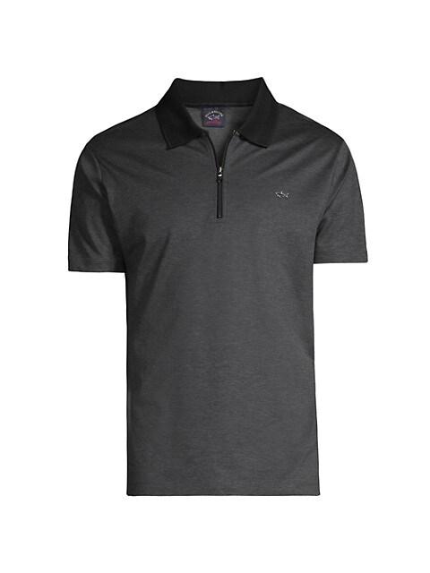 Quarter-Zip Polo Shirt