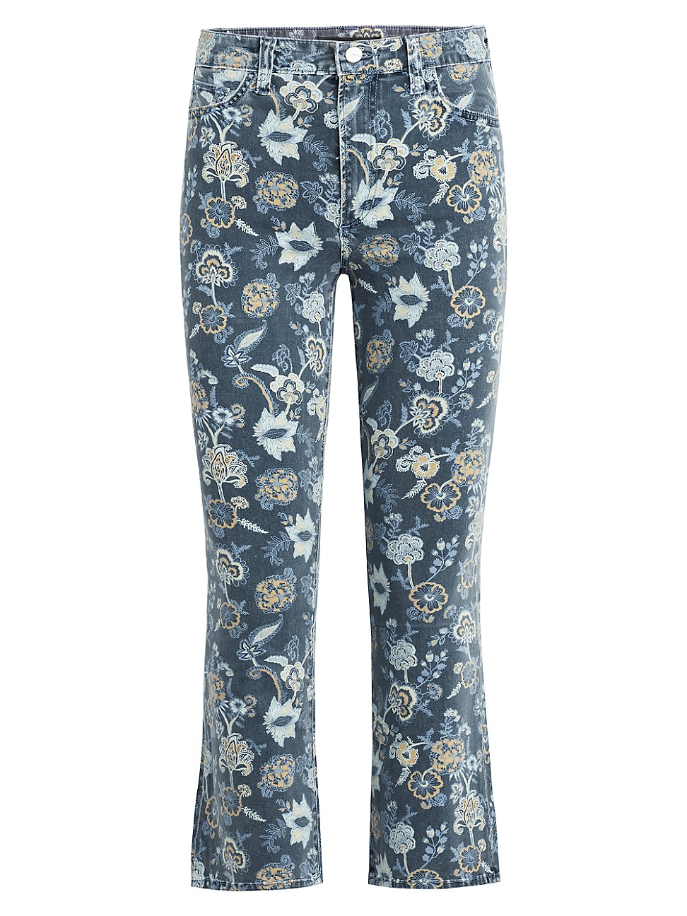 Joe's Jeans WOMEN'S CALLIE HIGH-RISE FLORAL CROPPED JEANS