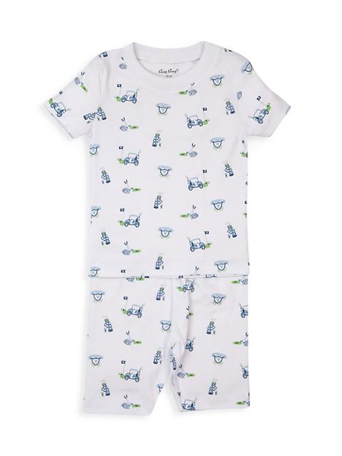 Baby's & Little Boy's Longest Drive 2-Piece Print Short Pajamas Set