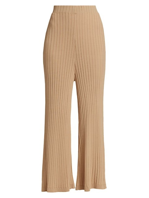 Debbie Knit Wide-Leg Pants