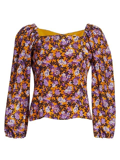 Merlina Floral Top